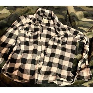 Forever 21 Tops - Checkered flannel